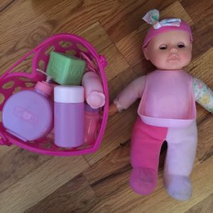 Baby doll w/ accessories for Sale in Greensboro, NC