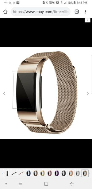 Fitbit watch band, charge 2 and 3, versa, alta, iPhone 2 and 3 for Sale in Joliet, IL