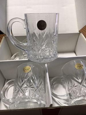 Cristal d'Arques coffee cups for Sale in Clio, MI