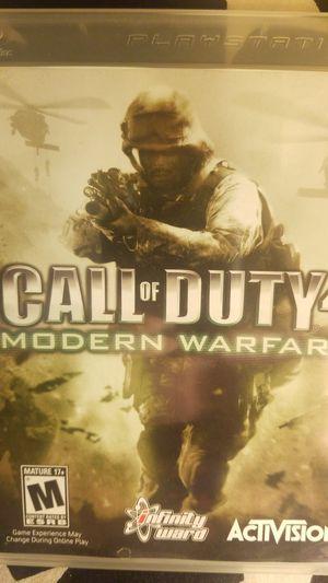 Call Of Duty 4: Modern Warfare for Sale in Houston, TX