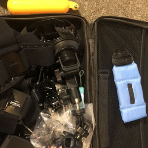 Auxiliary equipment for cameras go pro for Sale in Tulsa, OK