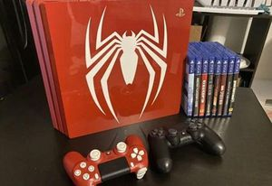 Ps4 Spiderman edition pro bundle for Sale in Los Angeles, CA