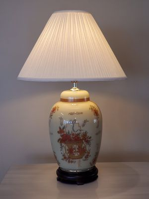 LARGE, ASIAN-STYLE LAMP - firm price. for Sale in Arlington, VA