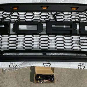 15-17 FORD F-150 SVT RAPTOR MATTE BLACK MESH LED GRILLE for Sale in Los Angeles, CA