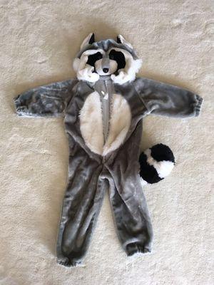 Raccoon Halloween costume, child size 3-5 for Sale in Wenatchee, WA