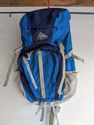 Kelty Goshawk blue gray backpack hiking pack for Sale in Tempe, AZ