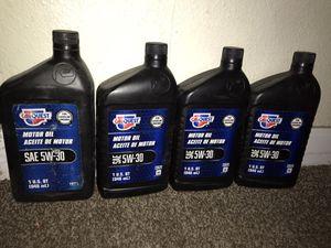 New motor oil 4 for $5.00 for Sale in Loma Linda, CA