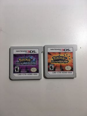 Pokémon ultra Sun & Moon! Nintendo 3ds, 2ds! for Sale in Denver, CO