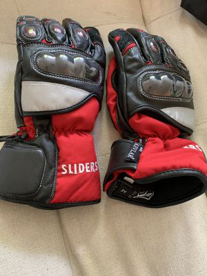 SLIDERS Motorcycle Gloves M for Sale in San Francisco, CA