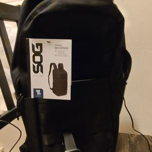Simple All Black Sog Backpack Clean for Sale in San Diego, CA