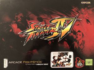 Street Fighter IV Arcade Fightstick + Game - Xbox 360 for Sale in Seattle, WA