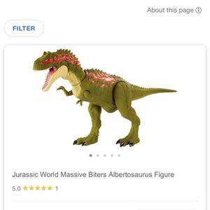 Jurassic World- Albertosaurus Action for Sale in Bryans Road, MD