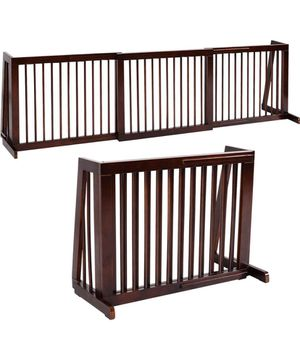 Freestanding Dog Gate Wooden Pet Gate for Sale in Rowland Heights, CA