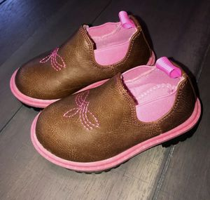 SZ 5 Baby Girl Pink Western Boots for Sale in Herriman, UT