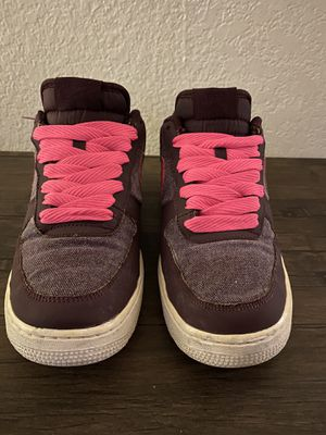 Nike Air Force 1 AF1 Red/brown Men'athletic shoes for Sale in San Leandro, CA