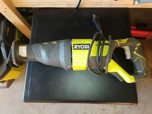SAWZALL RYOBI CORDED for Sale in Phoenix, AZ