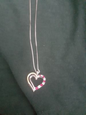 Sterling silver and 10kt gold heart pendant for Sale in Phoenix, AZ