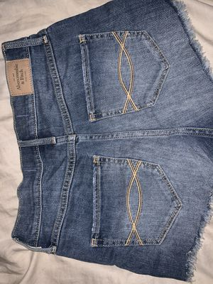Abercrombie & Fitch medium wash shorts size 2 for Sale in Newhall, CA