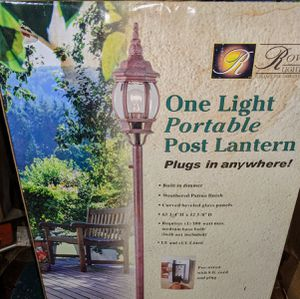 2 brand new portable light posts for Sale in Bloomingdale, GA
