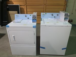 COMMERCIAL WASHER AND DRYER!! $39 DOWN NO CREDIT CHECK for Sale in Houston, TX