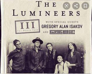 Lumineers ticket in Portland, OR for Sale in Montesano,  WA