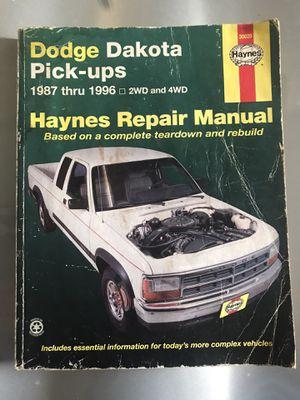 Dodge Dakota Repair Manual for Sale in Spring Hill, FL