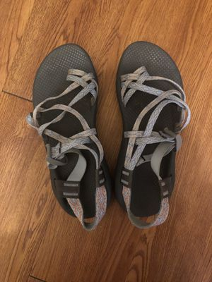 Size 10 Women's Light Blue Chacos for Sale in TEMPLE TERR, FL