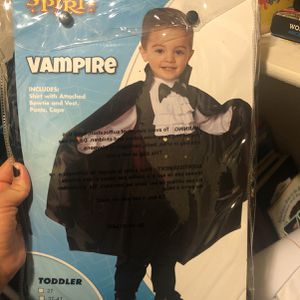 Toddler Vampire Costume for Sale in Los Angeles, CA