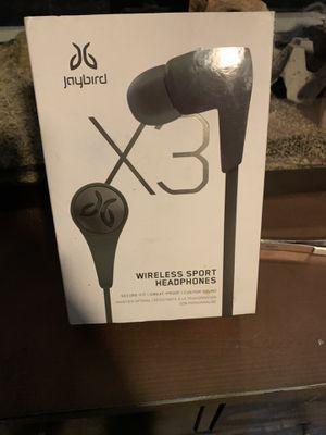 Jay bird x3 wireless earbuds for Sale in Glendora, CA