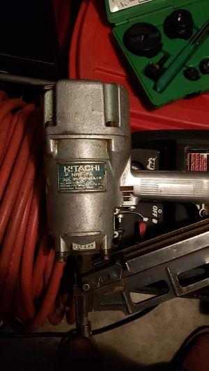 Framing gun 16 penny nailer for Sale in Arlington, WA