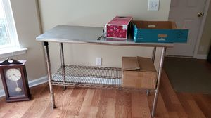 Kitchen prep/utility table for Sale in Irmo, SC