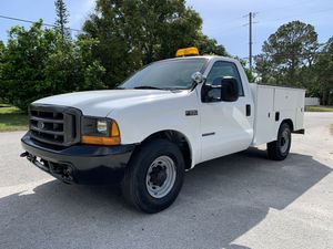 2000 Ford F-250 utility truck 7.3 L diesel for Sale in St.Petersburg, FL