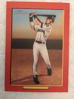 ICHIRO NO NAME ON THE FRONT BASEBALL CARD for Sale in Roswell, GA