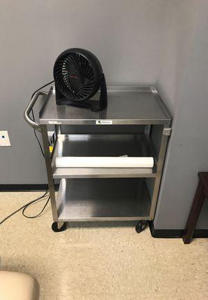 Metal medical cart for Sale in Ontario, CA