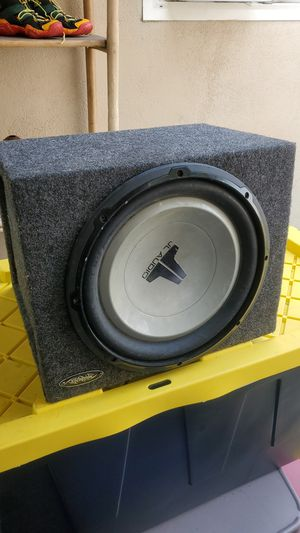 JL AUDIO W6 WOOFER & Amps for Sale in Covina, CA