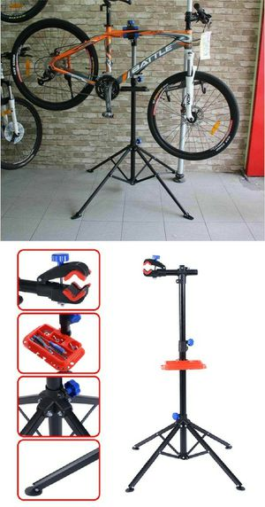 New adjustable 41 to 75 inch bicycle bike repair stand cleaning 66lbs capacity for Sale in Pico Rivera, CA