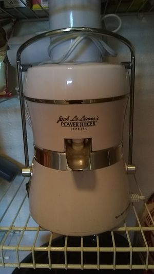 Jack LaLanne Power juicer for Sale in Tacoma, WA