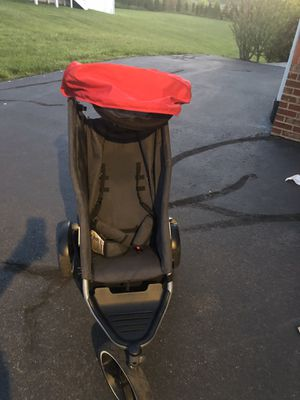 PHIL AND TEDS RUNNING JOGGING STROLLER + DOUBLE Stroller + Awesome condition lightly used NOT bob for Sale in Ashburn, VA