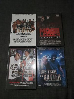 Bay Area Rap DVD Set Factory Sealed/Brand New for Sale in Vallejo, CA