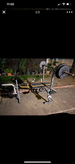 Weight Set for sale for Sale in Pico Rivera, CA