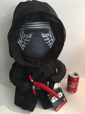 "Star Wars Kylo Ren Halloween Door Greeter Giant Plush Doll Stuffed Animal 21"" inch for Sale in Santa Ana, CA"