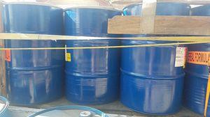 55 gallon metal drums food grade for Sale in Sanger, CA