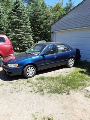 2002 Toyota corolla for Sale in Athelstane, WI
