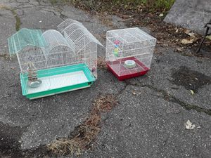 Bird cages, 2. Both for 20 bucks for Sale in Dearborn, MI