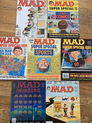 Mad Magazines from early 1980s - Small Lot for Sale in E ATLANTC BCH, NY