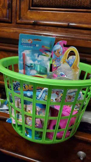 Girls brand new toys gift basket for Sale in Seffner, FL