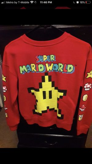 Brand new women's super Mario bros sweater for Sale in Anaheim, CA