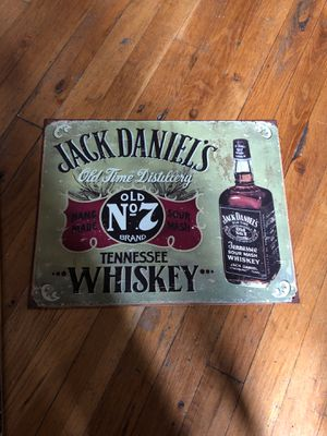Jack Daniels Tin Sign for Sale in New York, NY