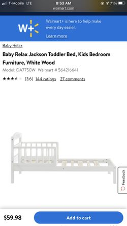 Toddler Bed And Mattress for Sale in Bremerton,  WA