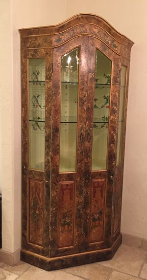 Antique china closet for Sale in Los Angeles, CA
